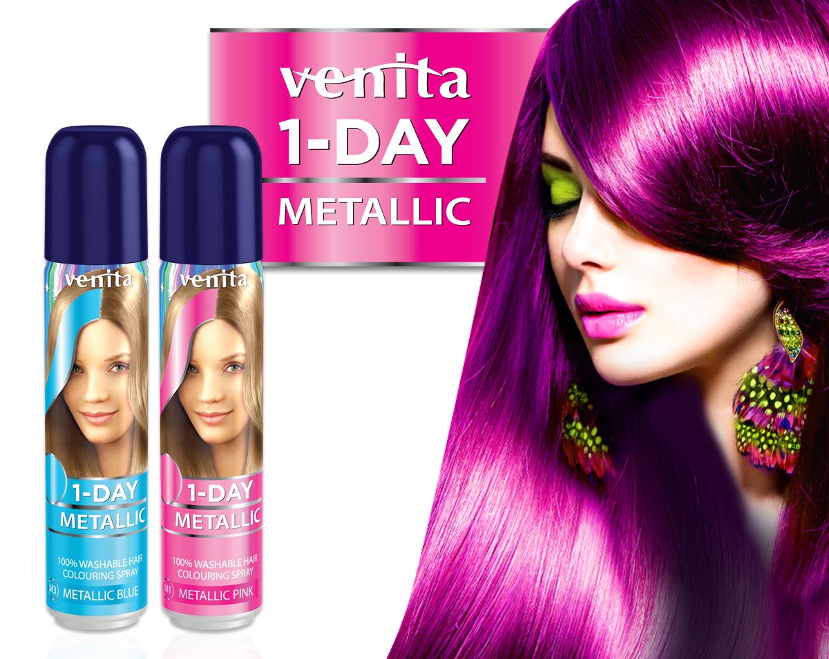 VENITA 1-DAY METALLIC Zestaw