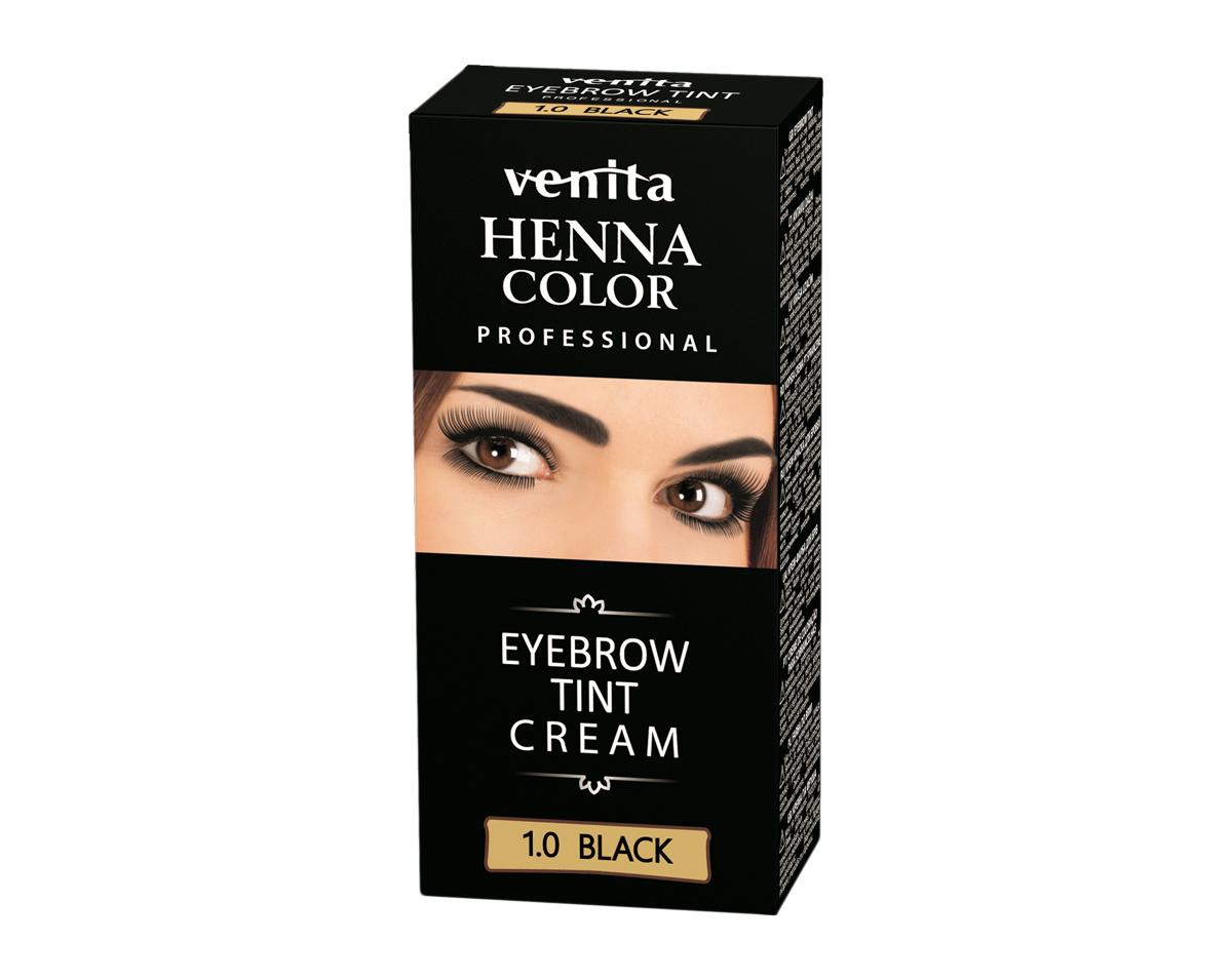 VENITA Eyebrow Tint Cream 10 Black