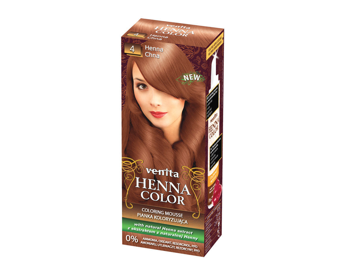 VENITA HCP 4 Henna