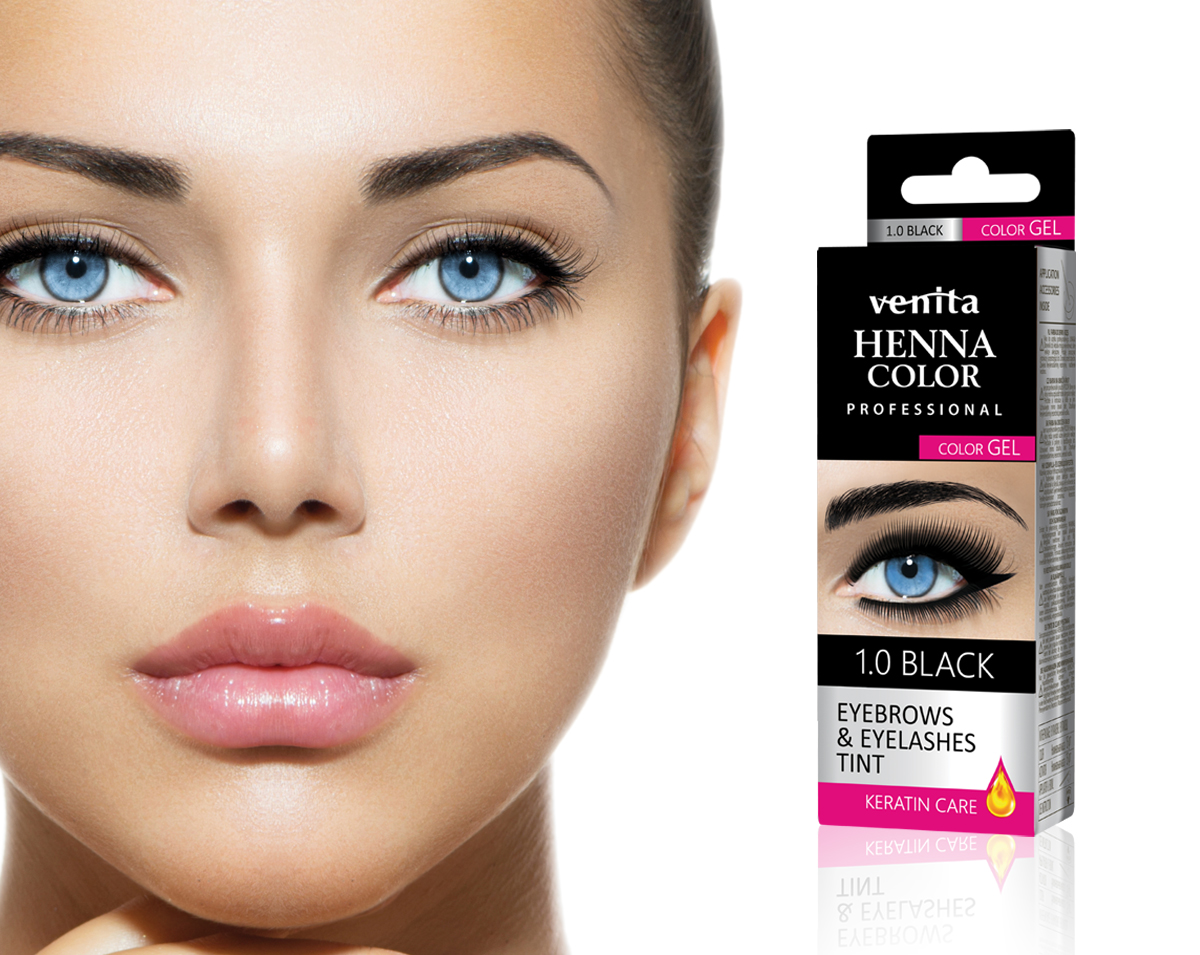 VENITA HENNA COLOR Gel Eyebrows and Eyelashes