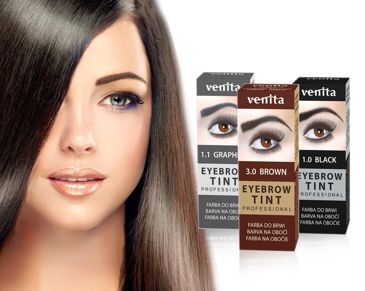 VENITA Henna Eyebrow Tint TRIO