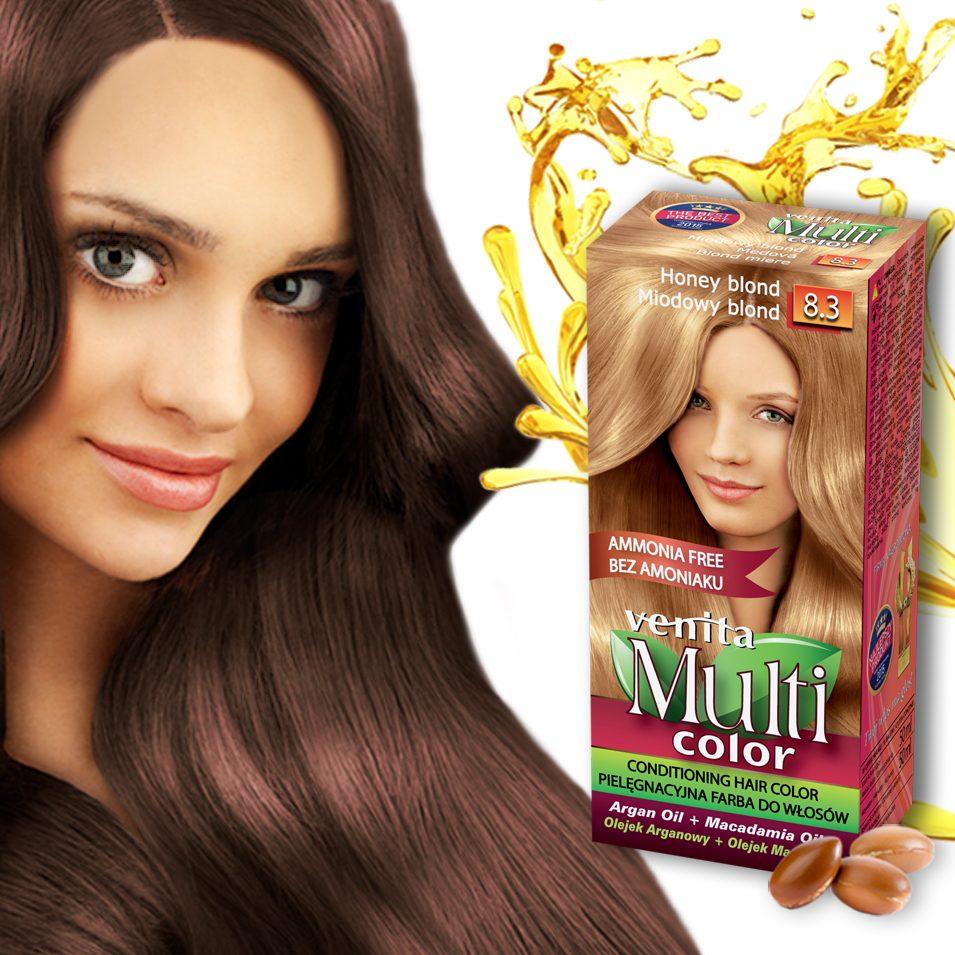 VENITA MULTI COLOR Brown Hair Woman
