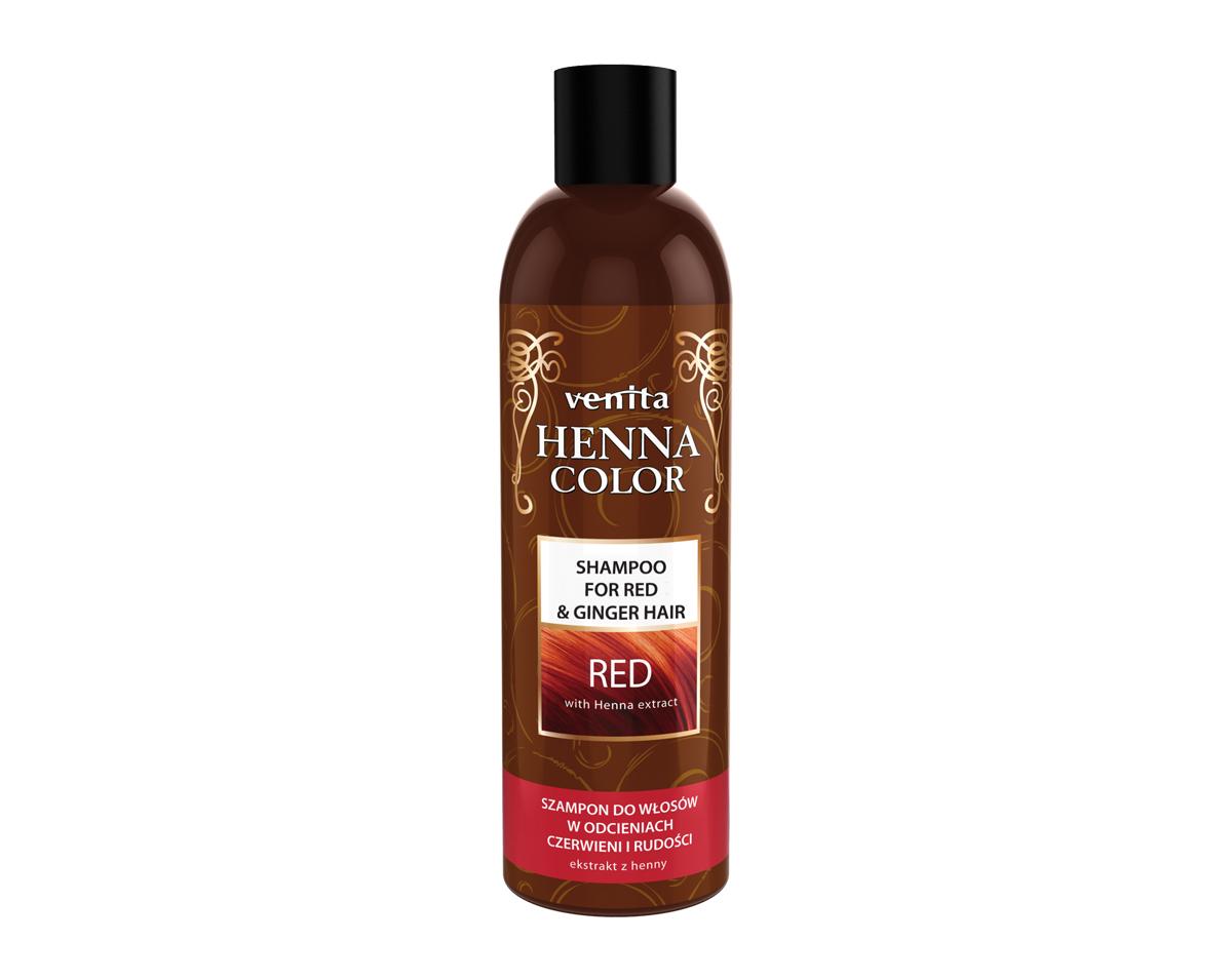 Henna Color Shampoo Red