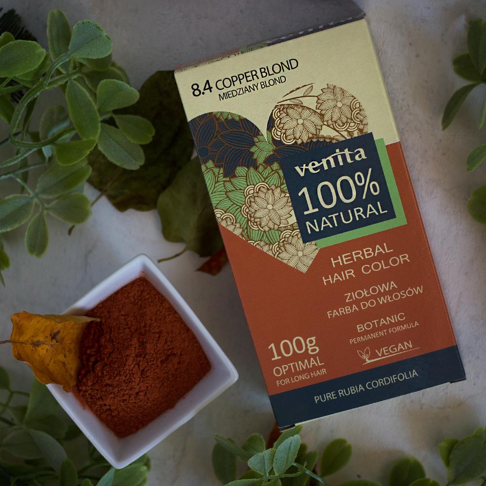 VENITA BIO Copper Blond 100% Natural