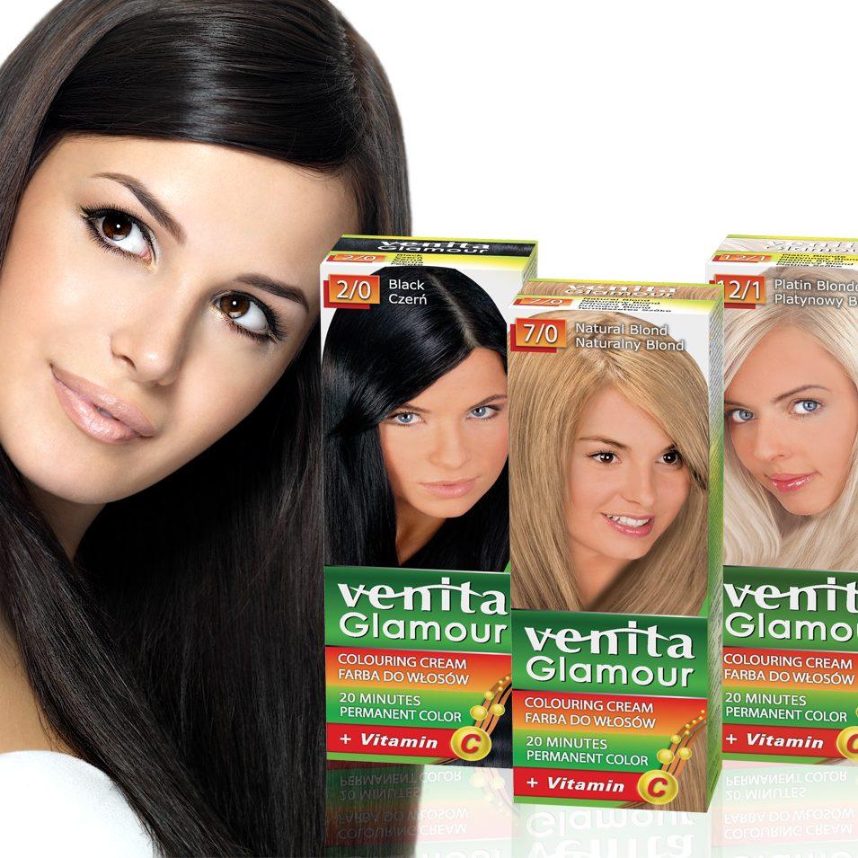 VENITA GLAMOUR Black Hair Woman