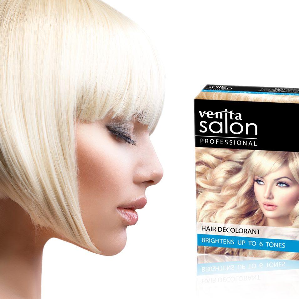 VENITA SALON HAIR DECOLORANT 6 TONES