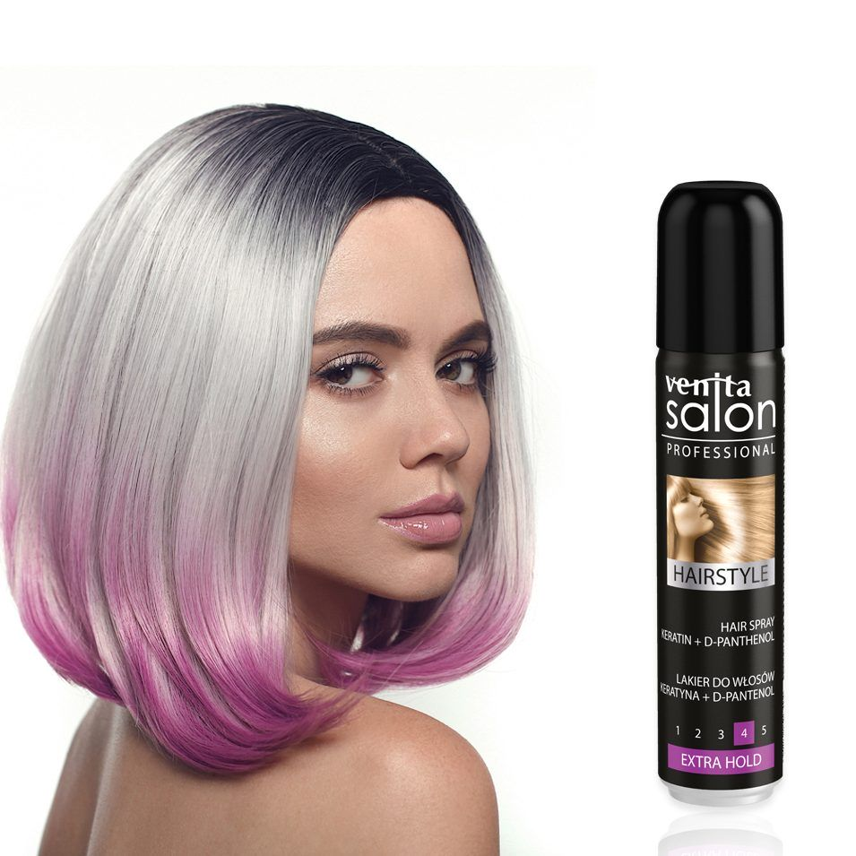 VENITA Hairstyle Extra Hold & Woman